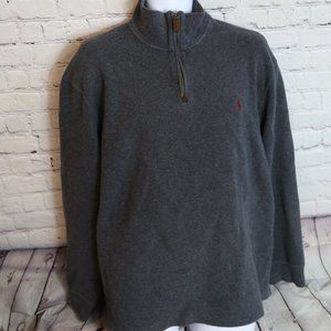 Polo Sweater quarter zip up